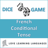 French Conditional Tense Dice Game