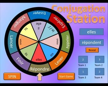 French Conjugation Station