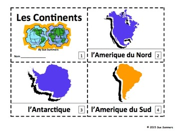 French Continents 2 Booklets