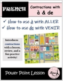 French Contractions with À & DE: How to Say Where You Are