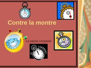 French - Contre la montre - le passe compose