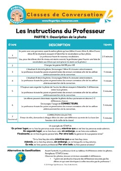 100 x French Conversation Activities