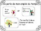 French Conversation Cards Telling Time School Subjects Bien Dit 1 Chapter 4
