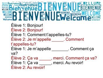 French Conversation Dialogue Ideas