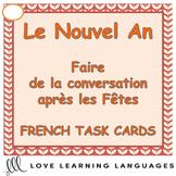 French New Year Task Cards - Le Nouvel An - Après les Fêtes
