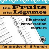 French Conversation Starters: Les Fruits et Les Légumes