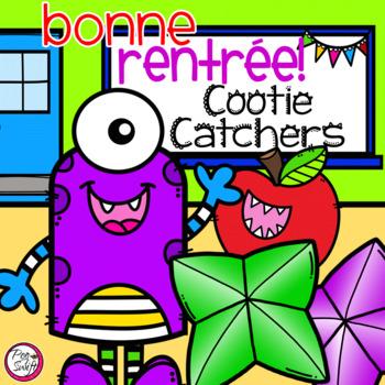French Cootie Catchers - la rentrée