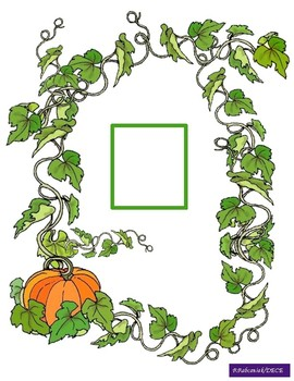 French Counting Pumpkin Vine