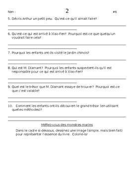 French Courte-Echelle book questions (90-page books)