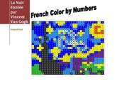 French Color by Number - Starry Night