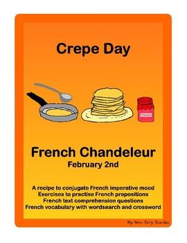 French Crepe Day Grammar Conjugation Vocabulary Comprehension