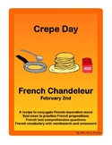 French Crepe Day Grammar Conjugation Vocabulary Comprehension