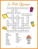 French Food Crossword: Le Petit Déjeuner