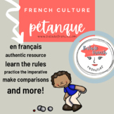 French Culture   Pétanque in comprehensible French