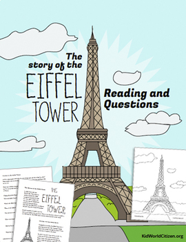 French Culture Lesson: Story of the Eiffel Tower ~ in English
