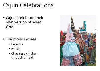 French Culture - The Cajun People Mini-Lesson