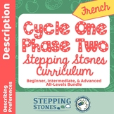 French Cycle 1 Phase 2 - Stepping Stones Multi-Level Yearl