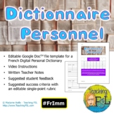 French DIGITAL Personal Dictionary | Dictionnaire Personne