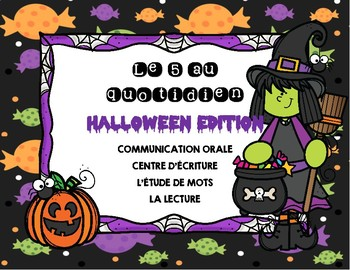 French Daily 5/ 5 au Quotidien: Halloween!