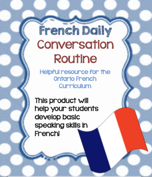 French Daily Basic Conversation Routine