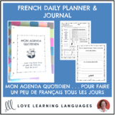 French Daily Planner & Self-Care Journal - Agenda Quotidie