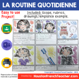 French Daily Routine - La Routine Quotidienne
