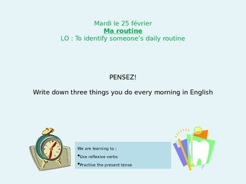 French Daily Routines