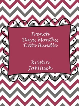 French Days, Months, Date Unit