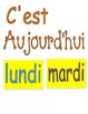Bulletin Board Labels for French Days, Months, Seasons