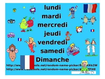 French Teaching Resources. Days of The Week PowerPoint and Games