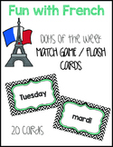 French Days of the Week