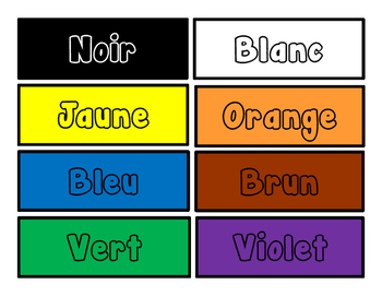French Days of the Week Colors Numbers No Prep Pack Practice Assessment Activity