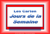 French Days of the Week and Jours de la Semaine made Super