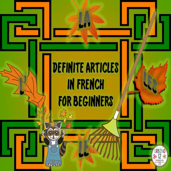 French: The Definite Articles