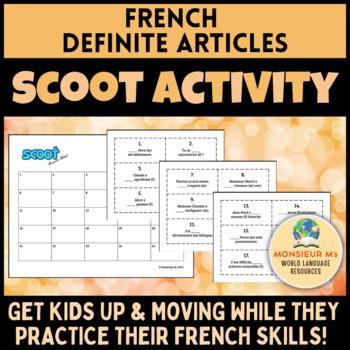 French Definite Articles Scoot [Les articles définis]