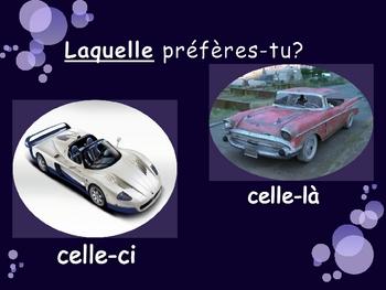 French - Demonstrative and Interrogative Pronouns - lequel et celui