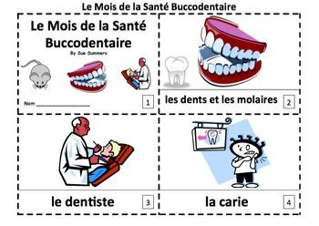 French Dental Health Month 2 Booklets - Mois de la Santé Buccodentaire