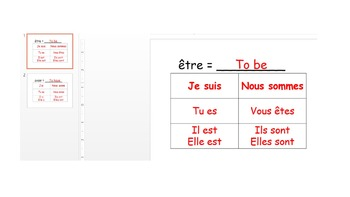 French Describing Myself/Others Worksheets and Activities