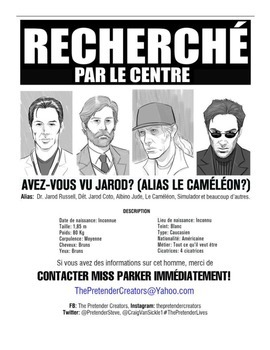 French Description Project: WANTED POSTER