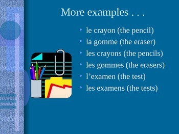 French Determiners