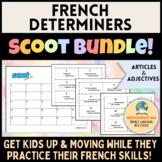 French Determiners Scoot BUNDLE! [Les Déterminants]