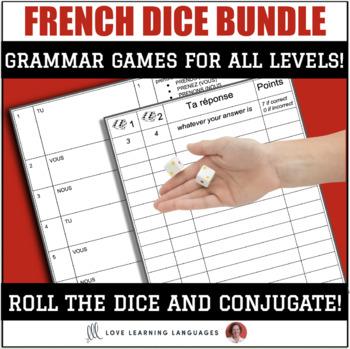 French Dice Games Growing Bundle - Jeux de Dés