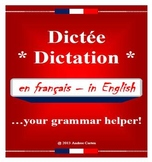 French Dictation / Dictee - Great Grammar, Spelling, and L