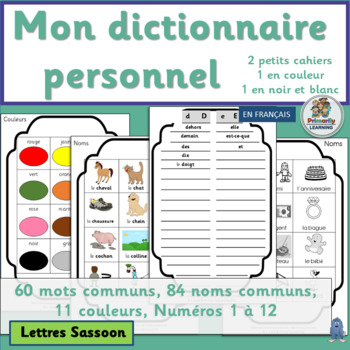 French: Mon dictionnaire personnel (SASSOON)