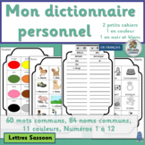 French: Mon dictionnaire personnel (Lettres SASSOON)