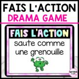 French Digital Brain Break-Fais l'action pause active