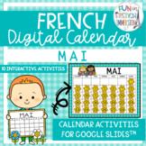 French Digital Calendar - May