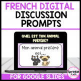 French Digital Discussion Prompts