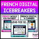 French Digital Icebreakers Bundle