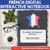 T'es Branche French Digital Interactive Notebook Google Sl